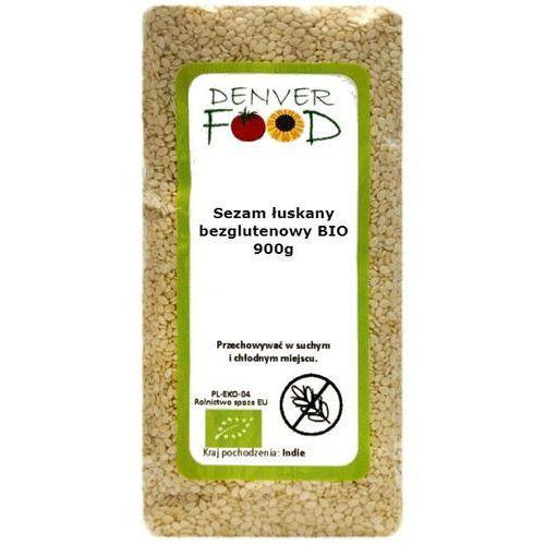 Sezam Łuskany Bezglutenowy BIO 900 g Denver Food (5906660017219)