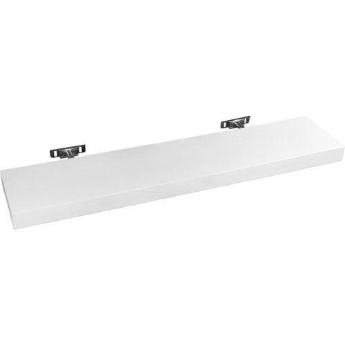 Stilista ® Biała półka naścienna wisząca saliento 50 cm - 50 cm