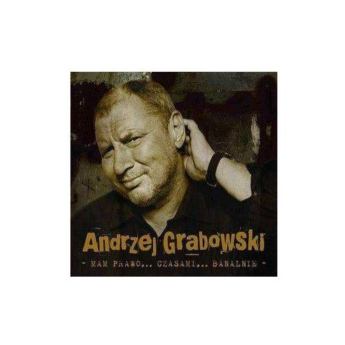 Andrzej Grabowski - Mam prawo... czasami... banalnie (Digipack) - produkt z kategorii- Pop