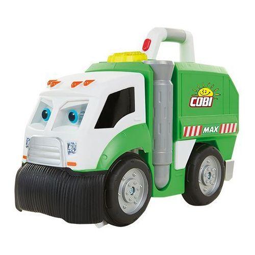 Max łakomczuch śmieciarka sprząta klocki reklama marki Cobi