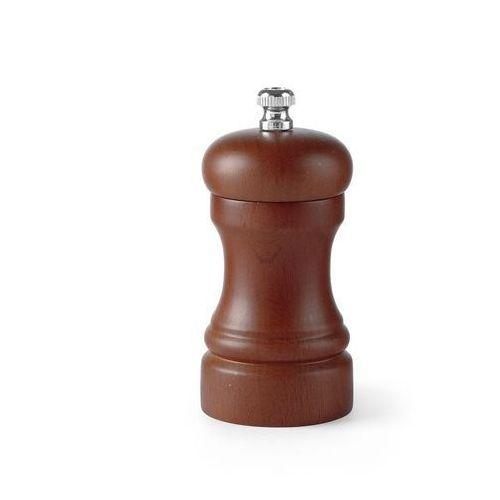 Młynek do pieprzu - drewno ciemne, wys. 10 cm marki Hendi