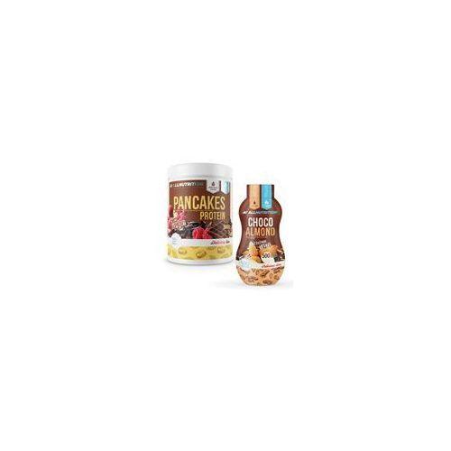 pancakes protein + sweet sauce 500g+500ml marki Allnutrition