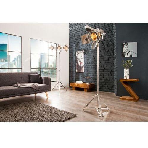Interior Lampa podłogowa film 170 cm srebrna