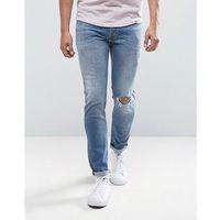 Diesel Sleenker Skinny Jeans 084GL Light Wash - Blue, jeans