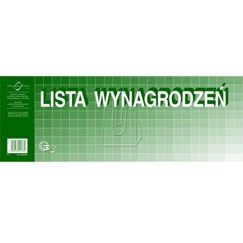 Michalczyk i prokop Lista wynagrodzeń. typ: p3 (1/2 a3) + zakładka do książki gratis