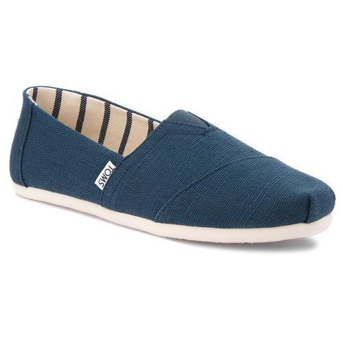 Półbuty - classic 10011704 majolica blue marki Toms