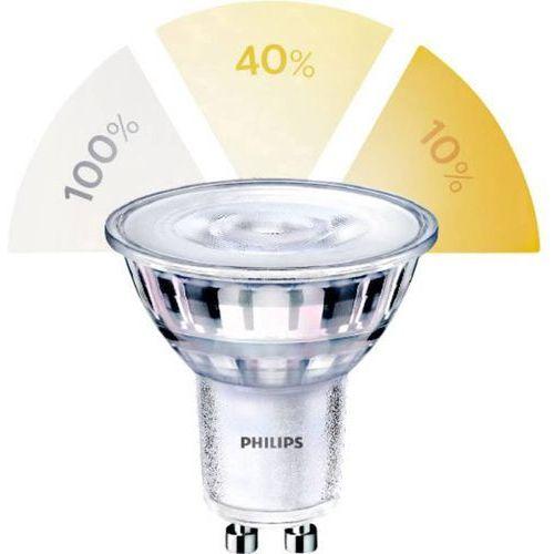 Żarówka led gu10 ssw 1,5w/3,5w/5w (50w) 3 tryby świecenia ww 36d rf nd 1bc/6 2200k - 2700k lsceneswitch 345lm 929001346001 marki Philips