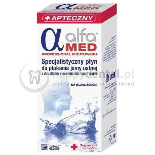 ALFA MED specjalistyczny płyn do płukania jamy ustnej do stsowania podczas leczenia nowotworów oraz kserostomii, 01902