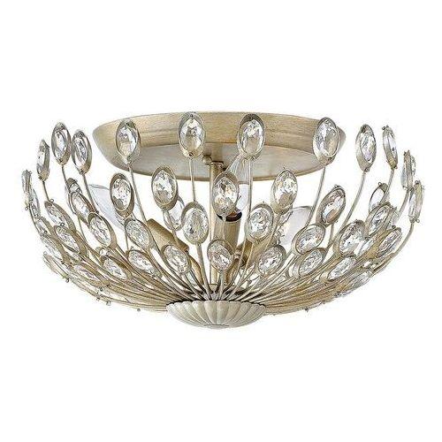 Kryształowa lampa sufitowa tulah z dystansem marki Elstead