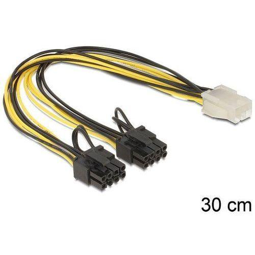 Delock Kabel rozdzielacz zasilania PCI EXPRESS 2x8PIN/1x6PIN - oferta (b545de43537f77c4)