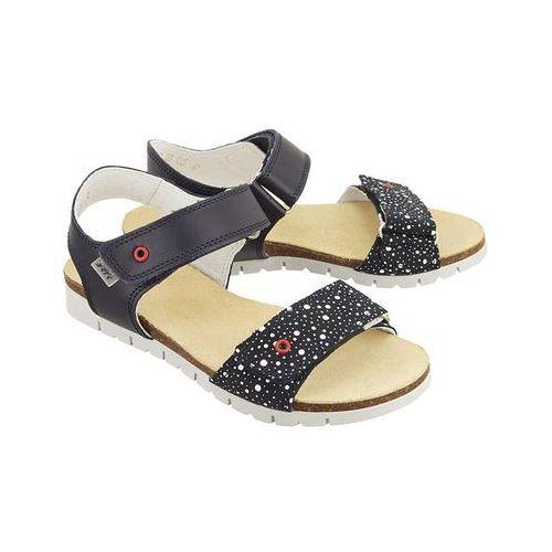 BARTEK 39183-05R niebiesko biały, sandały dziecięce, rozmiary: 33-38