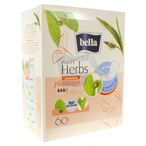 Wkładki higieniczne bella herbs sensitive z babką lancetowatą 60 szt. marki Tzmo s.a.