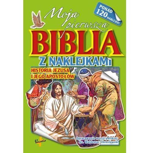 Moja pierwsza Biblia z naklejkami Historia Jezusa - Jeśli zamówisz do 14:00, wyślemy tego samego dnia. Darmowa dostawa, już od 99,99 zł. (9788378291305)