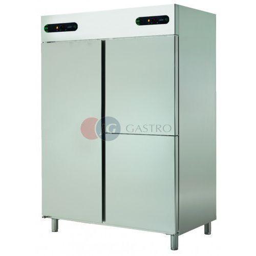 Szafa chłodnicza z komorą mroźną 1+2x1/2 drzwi 1050 l ecpm-1403 marki Asber