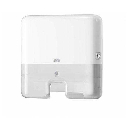 Podajnik do ręczników h2 biały - x05414 marki Tork