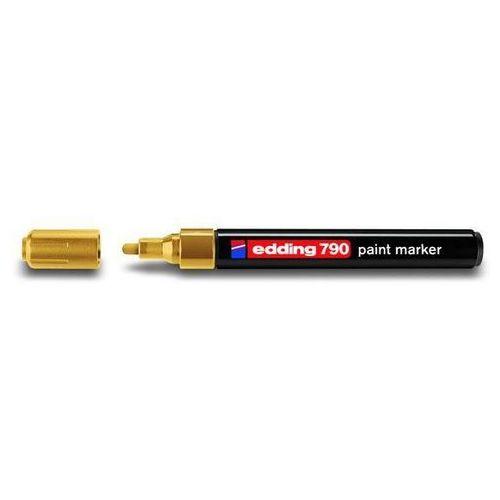 Edding Marker olejowy 790, złoty, końcówka okrągła 2-3 mm - rabaty - porady - hurt - negocjacja cen - autoryzowana dystrybucja - szybka dostawa
