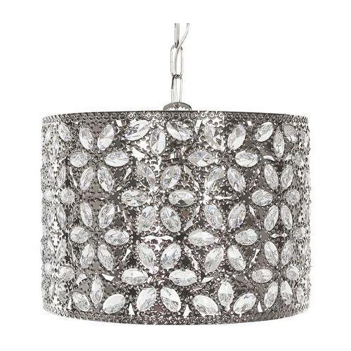 Lampa wisząca srebrna sajo marki Beliani