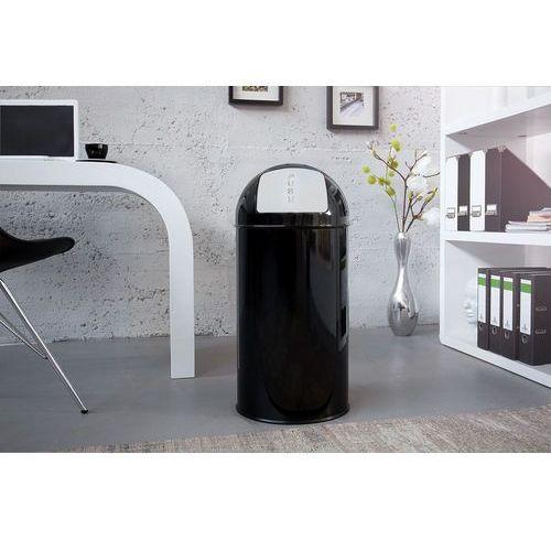 Pojemnik na odpady cen czarny 40l (kosz na śmieci) - wzór 1 marki Interior
