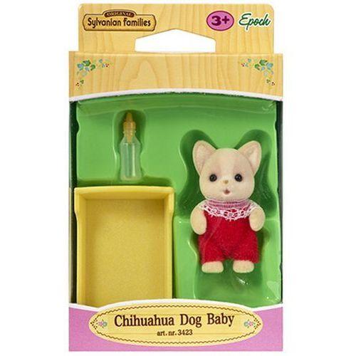 Sylvanian Families, dziecko piesków Chihuahua, zestaw z figurką, 3423 ()