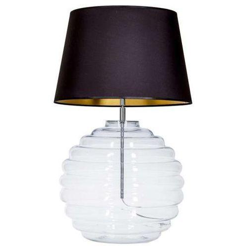 4concepts Lampa oprawa stołowa saint tropez 1x60w e27 czarny/złoty l215081240