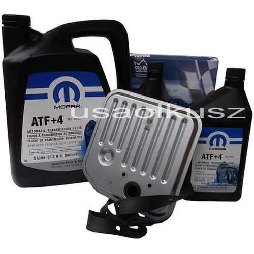 Olej MOPAR ATF+4 6,89l oraz filtr skrzyni biegów Dodge Durango -2003 z kategorii Oleje przekładniowe