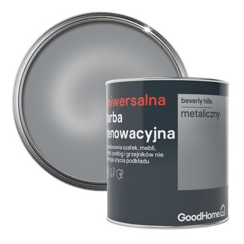 Goodhome Farba renowacyjna uniwersalna beverly hills metal 0,75 l (3663602588351)