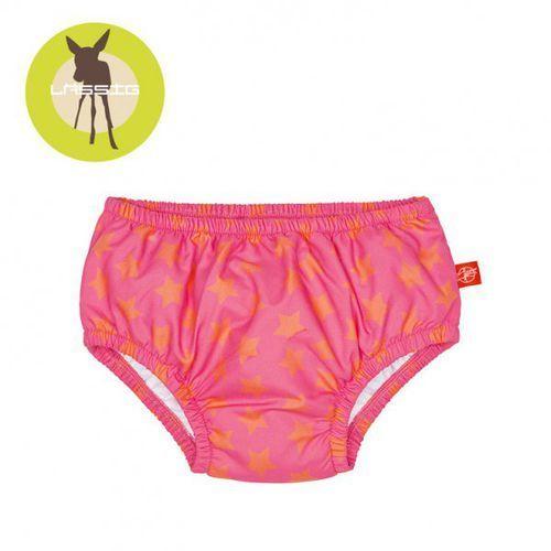 Lassig  majteczki do pływania z wkładką chłonną peach stars uv 50+