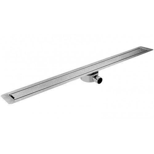 Odpływ liniowy slim invisible wis 60 cm metalowy syfon sin600 marki Wiper