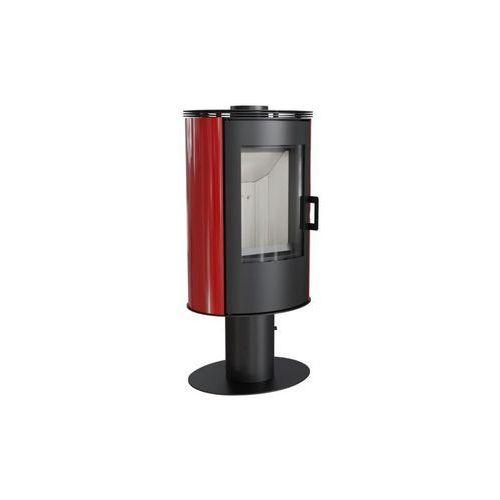 Piec kaflowy KOZA AB S/N/DR kafel czerwony + dodatkowy rabat przy zamówieniu + gratis, KOZA AB S/N/DR kafel czerwony