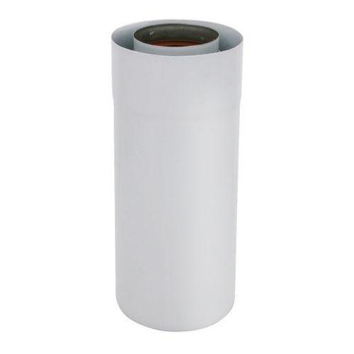 Rura 2-ścienna Spiroflex 60/100 mm biała 0,25 m (5907520944072)