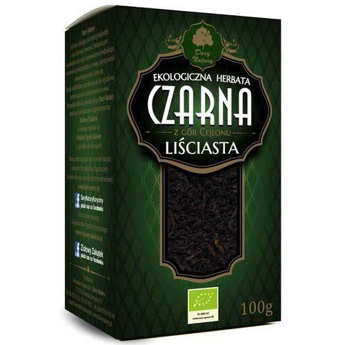 Dary natury - herbatki bio Herbata czarna cejlońska liściasta bio 100 g dary natury (5902581618443)