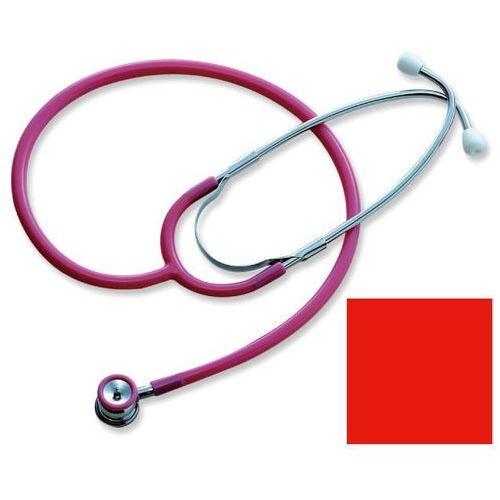 Stetoskop neonatalny 608t lekki - czerwony marki Spirit