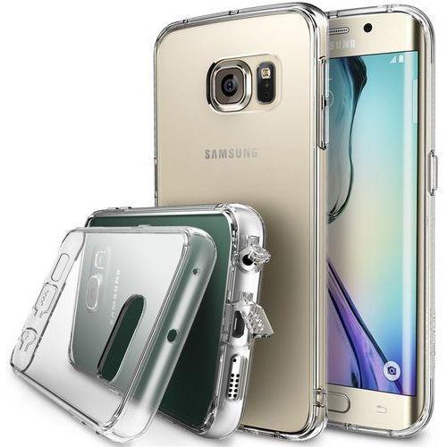 Oryginalne etui Ringke Fusion Samsung Galaxy S6 Edge Crystal View - Crystal View, kolor Crystal