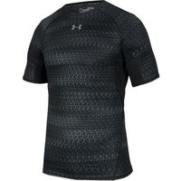 Koszulka kompresyjna  heatgear® armour printed short sleeve compression m 1257477-007 marki Under armour