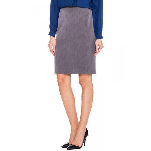 Szara, minimalistyczna spódnica - Metafora, 1 rozmiar