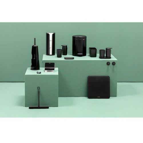 Brabantia - Zestaw łazienkowy ReNew Collection - czarny matowy - czarny (8710755280603)