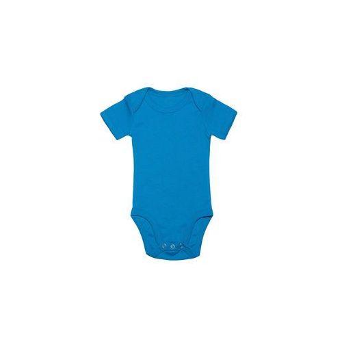 Body dziecięce (bez nadruku, gładkie) - niebieskie, 8726
