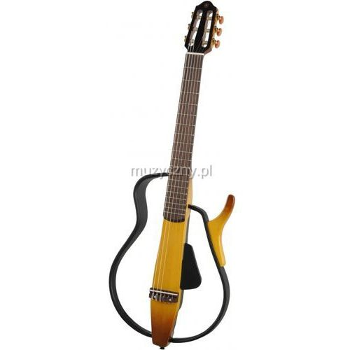 Yamaha  slg 110 n tbs natural brown sunburst gitara silent