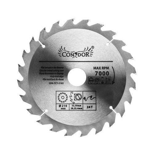 Condor Tarcza do drewna con-tct-2102 śr. 210 mm 24 z