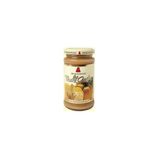 Zwergenwiese (pasty słonecznik., konfitury, inne) Mus z pigwy (70% owoców) bezglutenowy bio 225 g - zwergenwiese