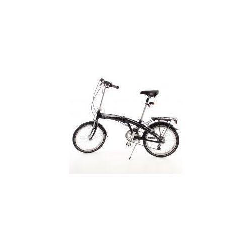 Aluminiowy rower składany składak mifa 7- biegów shimano z bagażnikiem i torbą wyprodukowany przez Mifa germany