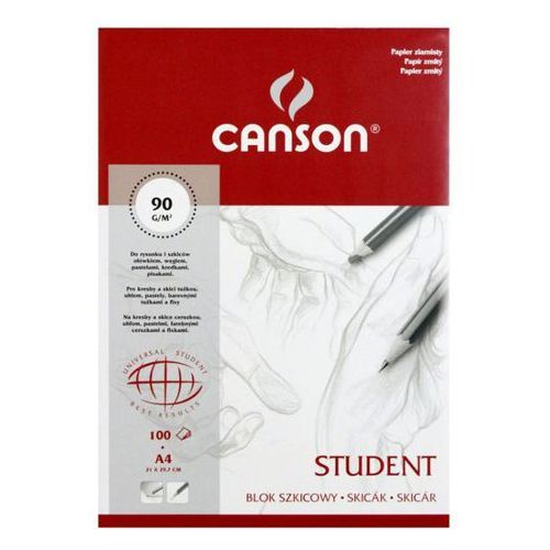 Canson Szkicownik student a4/100k. 90g 6666-021