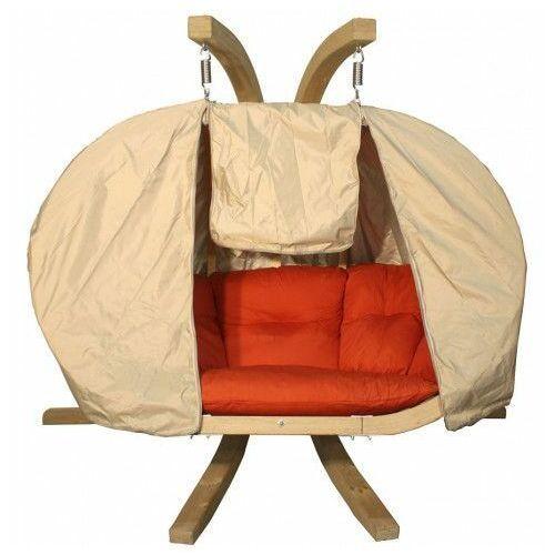 Beżowy pokrowiec na fotel wiszący - parys 3x marki Producent: elior