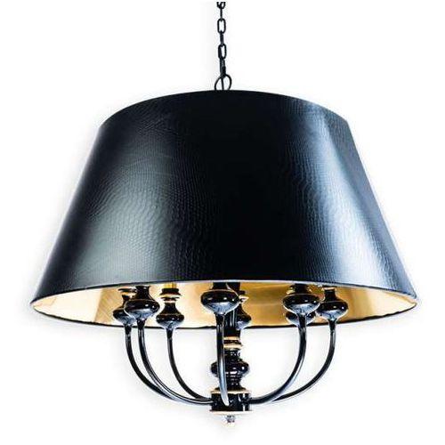Orlicki design Klasyczna lampa wisząca tomba grande metalowa oprawa zwis na łańcuchu czarny złoty (1000000280388)