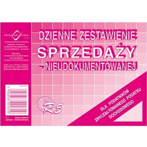 Dzienne zestawienie sprzed. nieudok. Michalczyk&Prokop R5 - A6