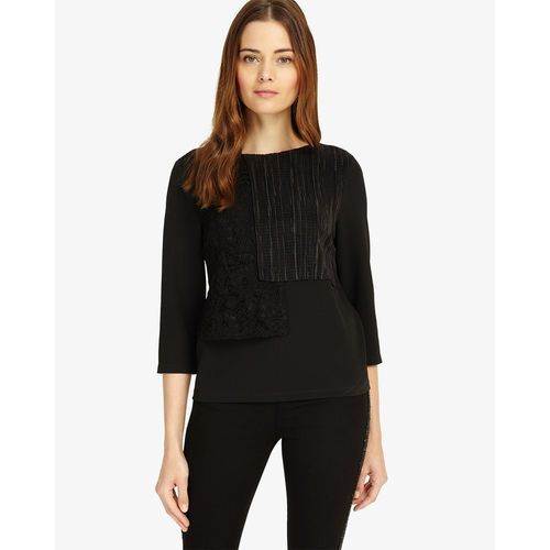 Phase Eight Lola Layered Lace Top, elastan
