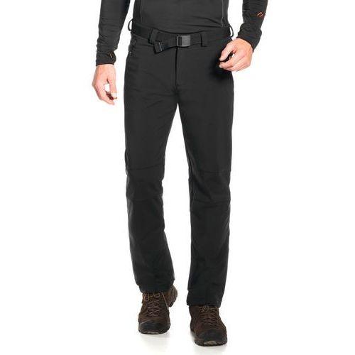 tech spodnie długie mężczyźni czarny 48 2018 spodnie softshell marki Maier sports
