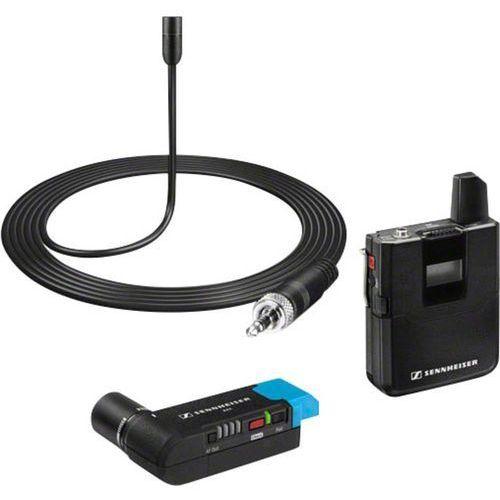 Mikrofon do kamery  avx-me2 set-3-eu, komunikacja: radiowa, z kablem, z klipsem marki Sennheiser