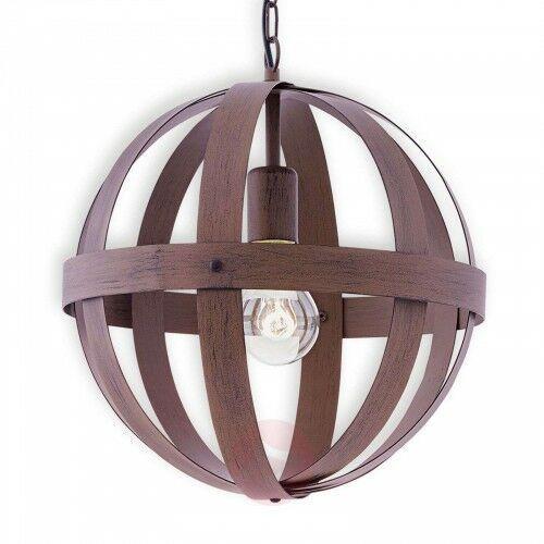 Eglo Metalowa lampa wisząca westbury o stylistyce rdzy
