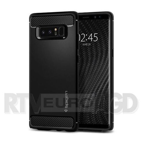 Spigen  rugged armor 587cs22061 samsung galaxy note8 (czarny)